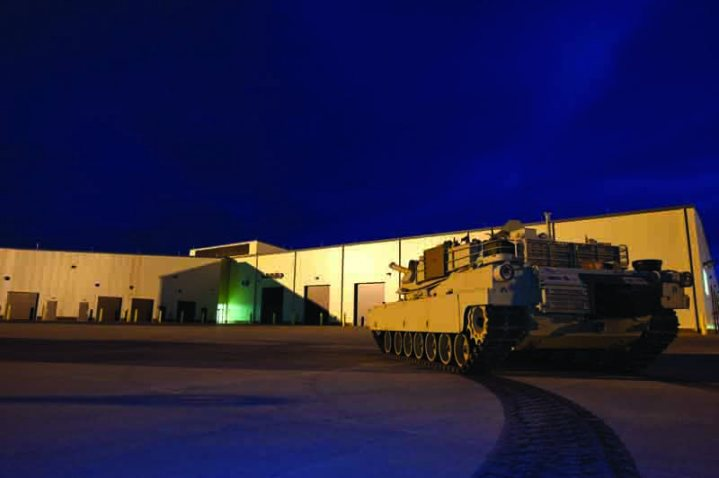 New Home for the Armor School - Corps completes massive construction program at Fort Benning