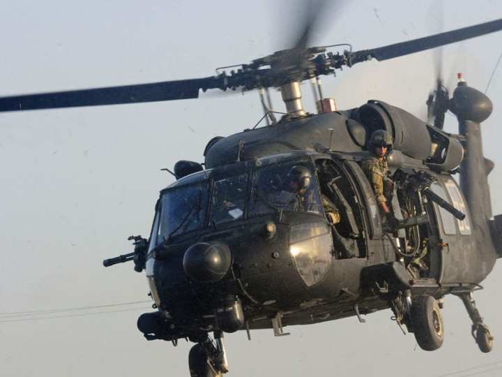 MH-60 black hawk 7.62mm minigun