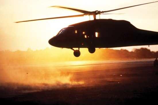 Operation Urgent Fury Point Salines Black Hawk landing
