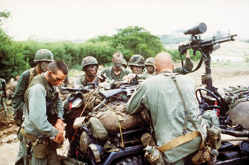 Operation Urgent Fury Ranger briefing