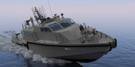 SAFE Boats MK VI patrol boat