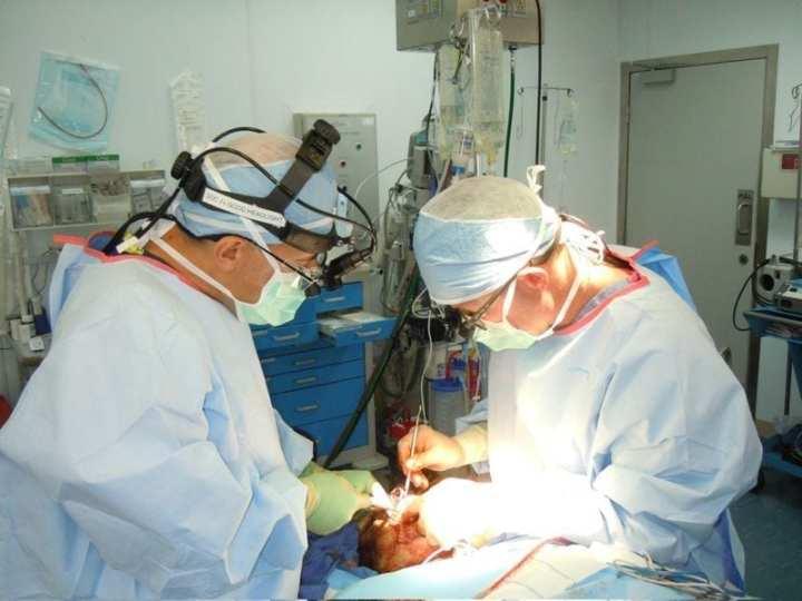 Combat Facial Trauma surgery