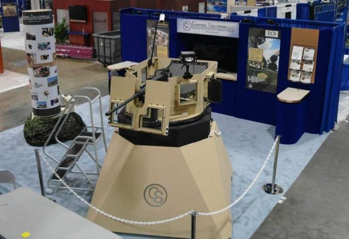 Control Solutions Turret Demo Tactical Network Testbed