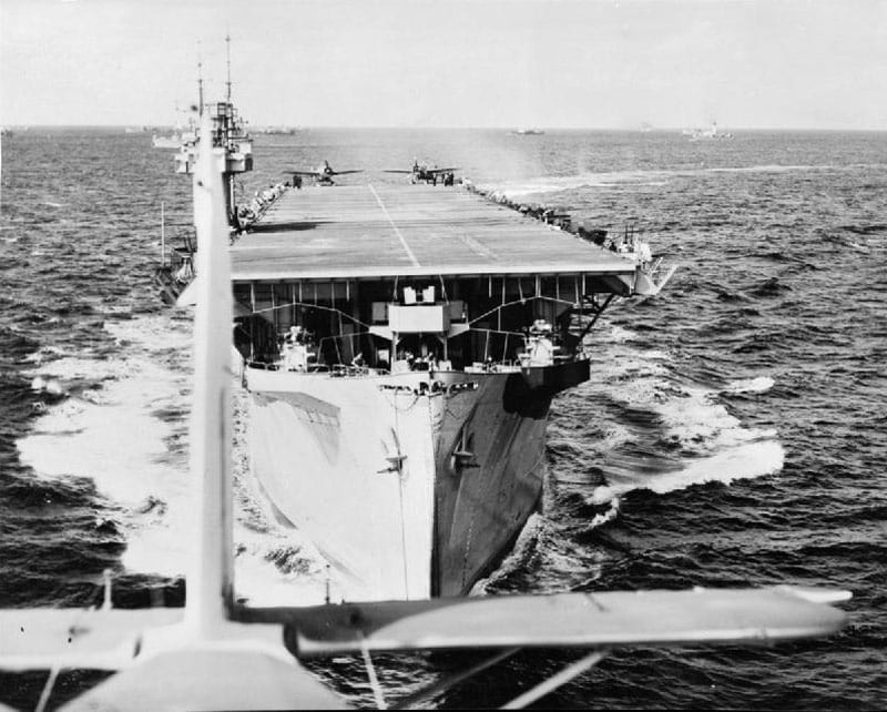 stories escort carriers close support