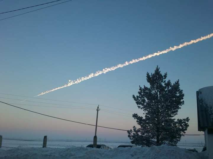 Asteroid threat Chelyabinsk