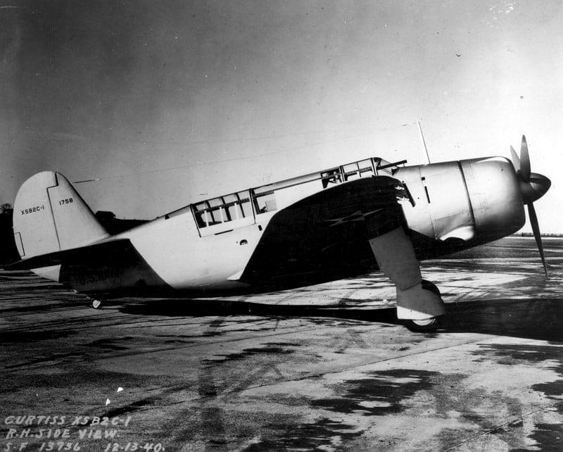 XSB2C-1 Helldiver