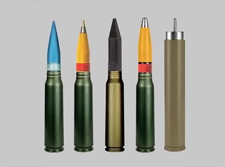 ATK 30mm rounds