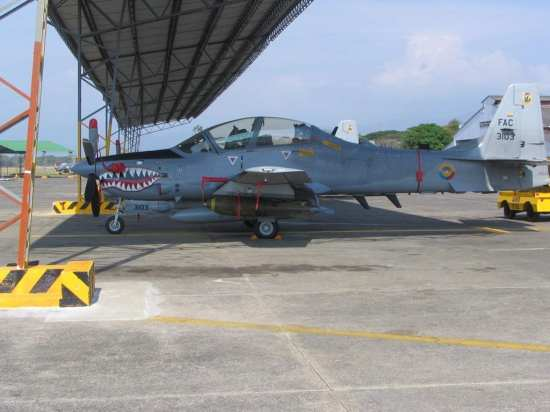 Colombian Super T bombed-up