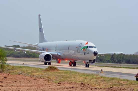 Indian Navy ISR P-8I arrives