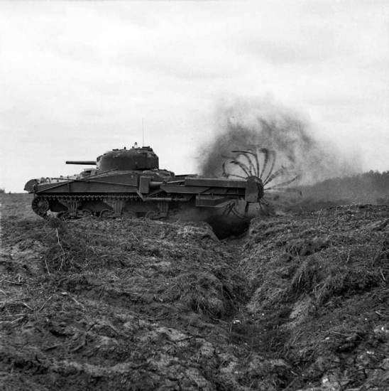 Sherman Crab Mk II