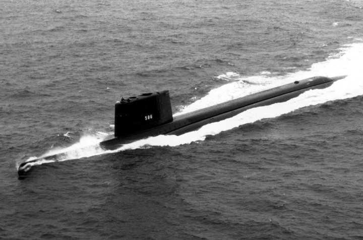 USS Triton (SSRN 586)