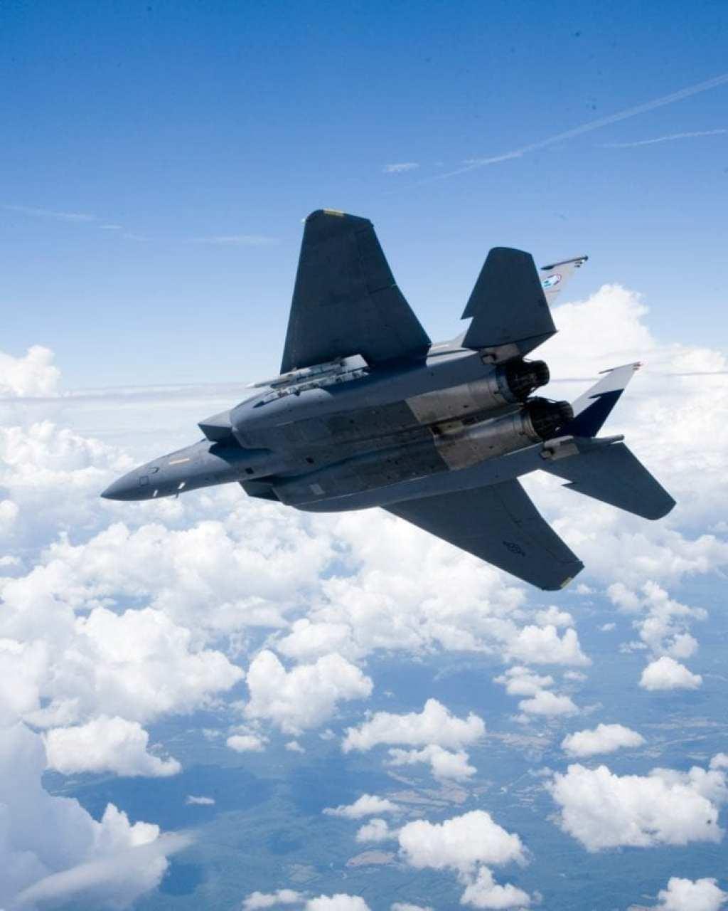 F-15SE open bay