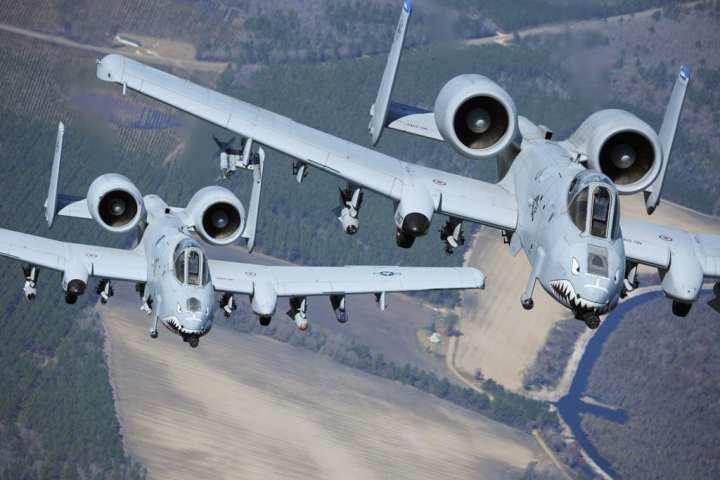 A-10 Warthogs