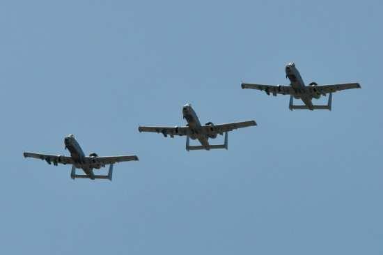 A-10 trio