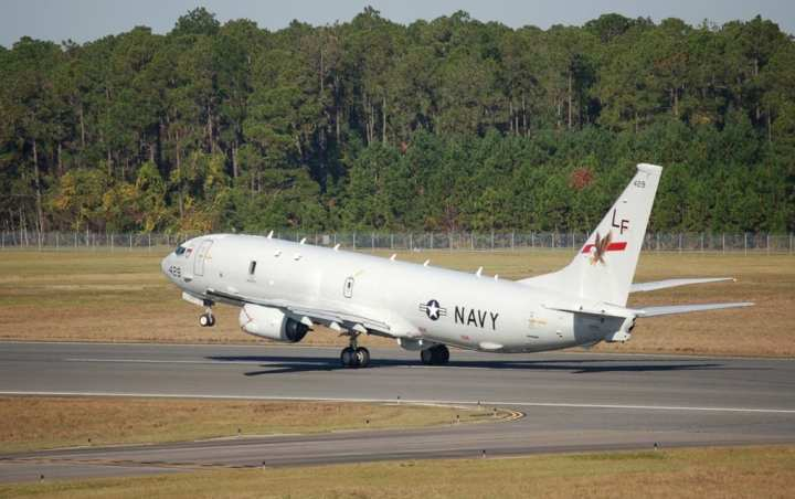P-8A Poseidon takeoff first deployment