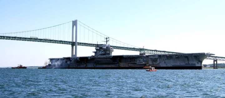 Ex-USS Forrestal (AVT 59)