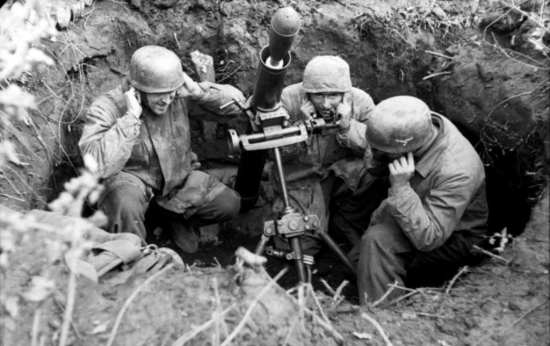 Fallschirmjäger Mortar Crew