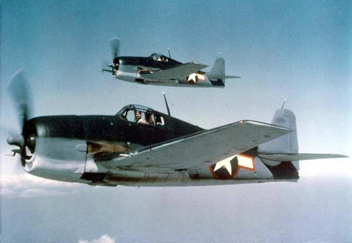 U.S. Navy Grumman F6F-3 Hellcats