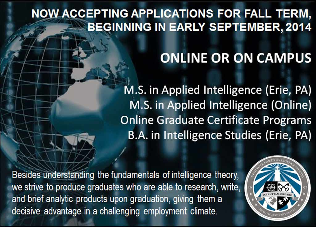 Institute for Intelligence Studies at Mercyhurst University