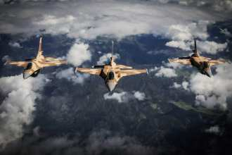 Moroccan F-16 Fighting Falcons
