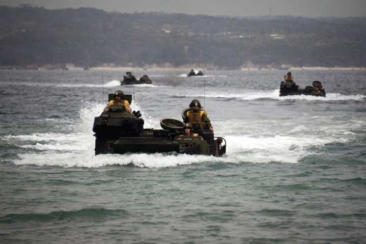 Assault Amphibious Vehicles