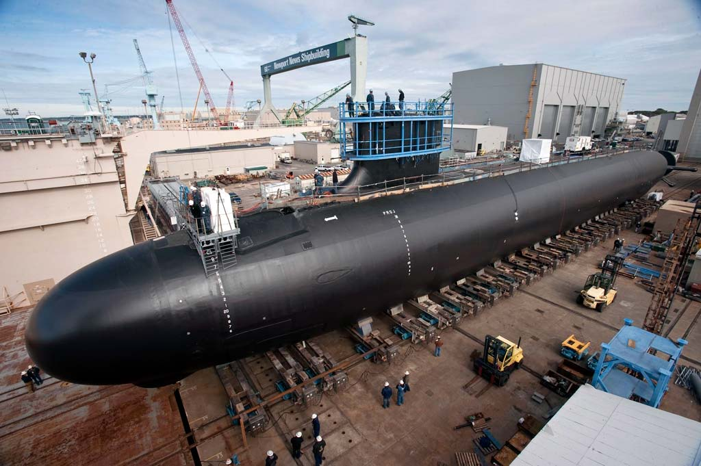 Virginia-Class Submarine Minnesota