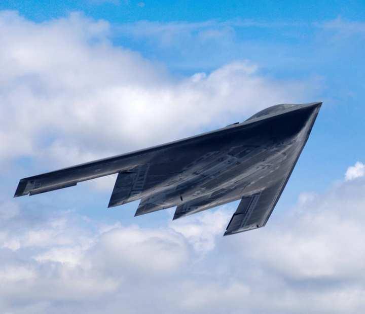 B-2 climbs