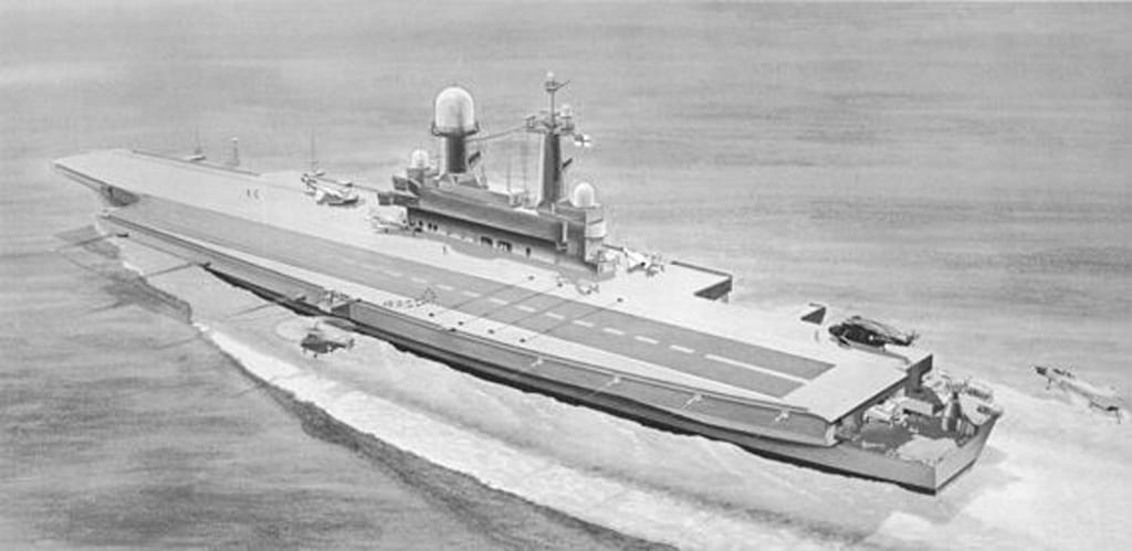 Future russian aircraft carriers. #3 - Page 23 CVA-01-port-stern
