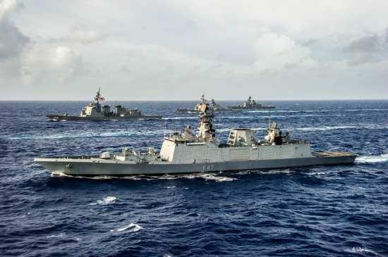 Malabar India ships