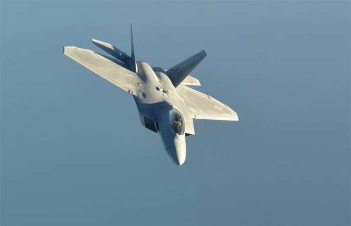 F-22 after Syria Strike