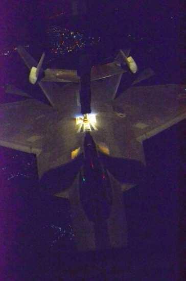 F-22 tanks Syria