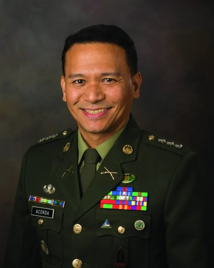 Philippine army Col. Raymundo Acorda is an International Fellow at the National Defense University's Eisenhower School for National Security and Resource Strategy. National Defense University photo by Katie Lewis