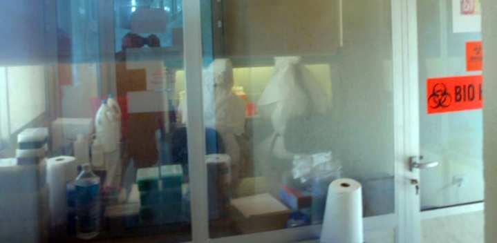 Ebola lab