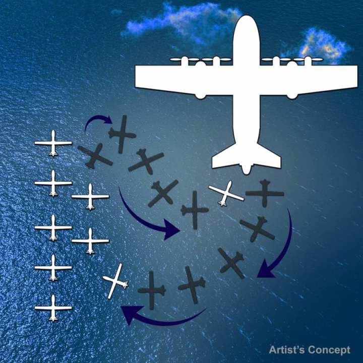 Airborne mothership