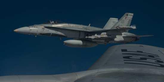 RCAF CF-18 ISIL airstrikes