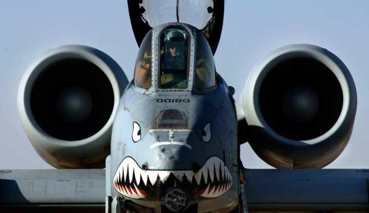 A-10 combat