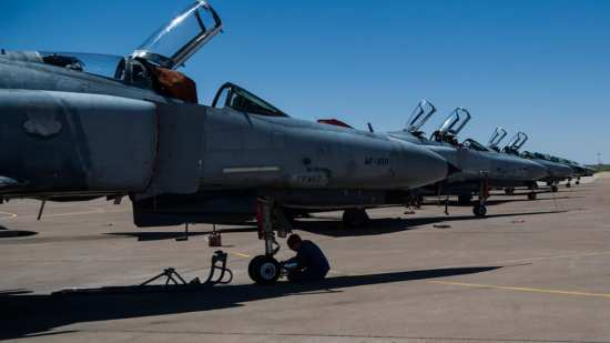 QF-4 flight line