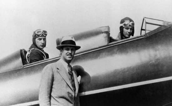 Weick, Lindbergh, and Hamilton