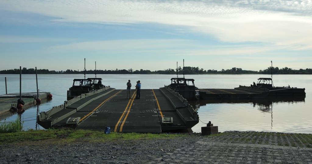XM30 Bridge Erection Boat The Armys New Boat  Defense Media Network