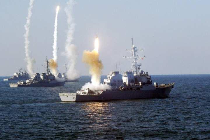 Missile firing