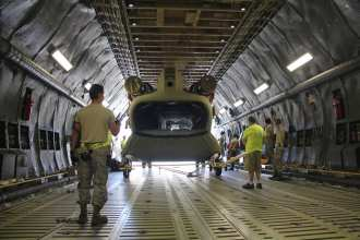 Chinook delivery