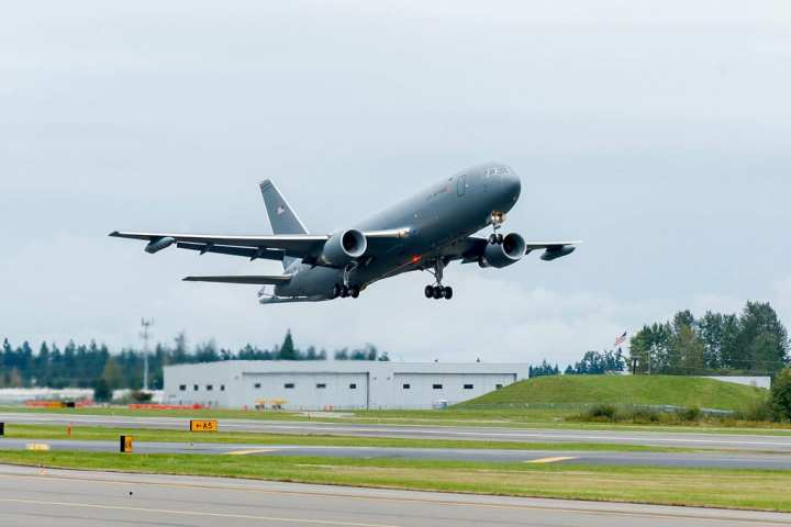 KC-46A first flight
