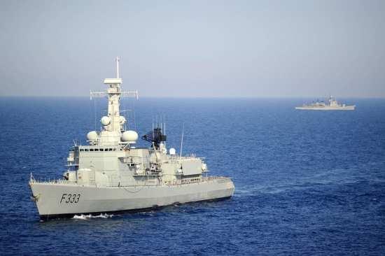 Portuguese navy frigate NRP Bartolomeu Dias-(F-333)