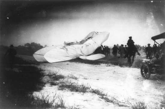 Wright crash