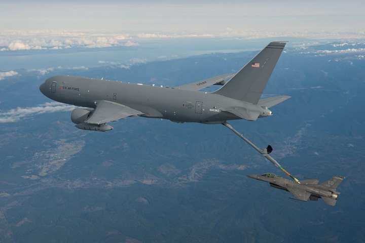 KC-46A first refueling
