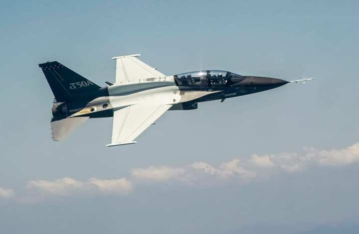 T-50A first flight