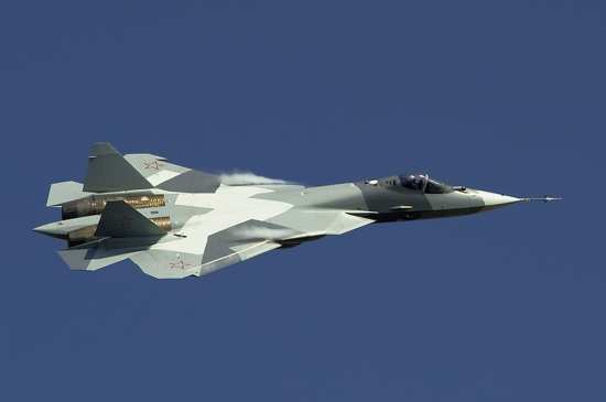 Air superiority T-50 (052) PAK-FA