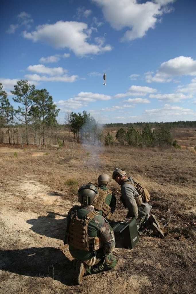 Marine Raiders mortar