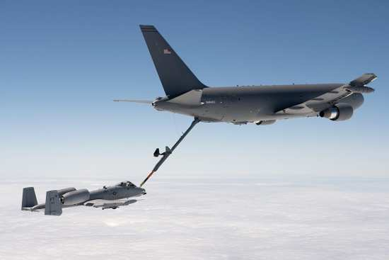 KC-46A and A-10