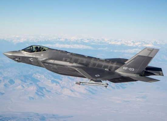 f-35 and aim-9x
